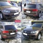 Осмотр Volkswagen Touareg на обмен.