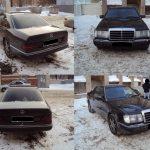 Старый Mercedes 124. Бывают не гнилые?